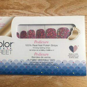 Color Street Pedicure - Retired Dansk All Night